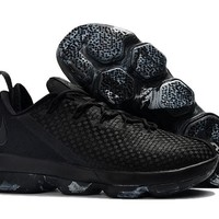 HCXX Nike Men's Lebron 14 Low-Cup Basketball Shoes Black 40-46