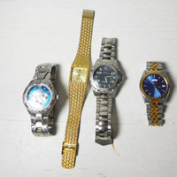 Lot of Watches Vintage Seiko, Fake Rolex, Relic Wet, Field and Stream All Need Repair