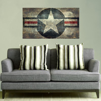 US Air Force Roundel Star Wall Decal Flag by Bruce Stanfield - My Wonderful Walls