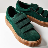 Hollie Three-Strap Creeper Sneaker   Urban Outfitters
