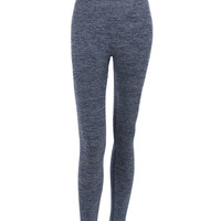 LE3NO Womens Fitted High Rise Workout Tights Ankle Length Yoga Pants