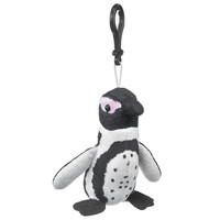 4 Inch Black-footed Penguin Stuffed Animal Clips for Kids Toy