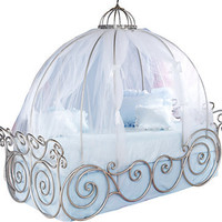 Disney Princess Full Carriage Bed
