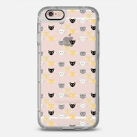 Kitties (transparent) iPhone 6s case by Lisa Argyropoulos   Casetify