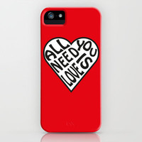 All You Need Is Love - The Beatles iPhone & iPod Case by cleopetradesign.com