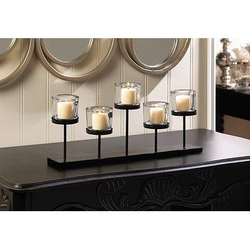 Staggered Tealight Candleholder