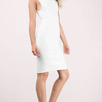 Bless'ed Are the Meek Conjoin High Neck Bodycon Dress