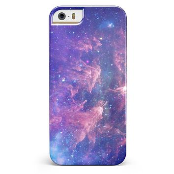 Colorful Nebula iPhone 5/5s or SE INK-Fuzed Case