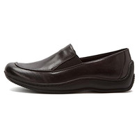 Walking Cradles Womens Blick Leather Slip On Loafers