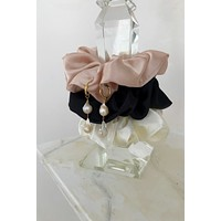 Grande Satin Scunchies - set of 3