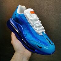 Nike AIR MAX 720/95 Men Blue Fashion Sneakers Sport Shoes Size 40-45