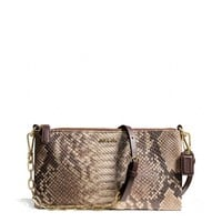 MADISON KYLIE CROSSBODY IN PYTHON EMBOSSED LEATHER