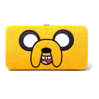 Adventure Time Jake Face clutch purse - officially licensed wallet for cosplay