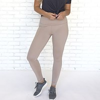 Work It Out Pink Shine Leggings