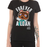 Nintendo Animal Crossing: New Leaf Forever A Loan Girls T-Shirt