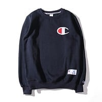 Men's Champion Long Sleeve T Shirt