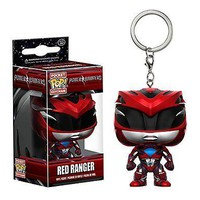 Funko Pocket Pop: Power Rangers Red Ranger Keychain