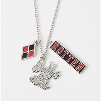 Daddy's Lil Monster Suicide Squad 3 Charm Necklace - Spencer's