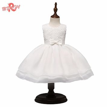 Toddler Girl Christening Gown born Babes Clothes Girl Infant Party Dresses For 1st Birthday Outfits Baptism Baby Costume