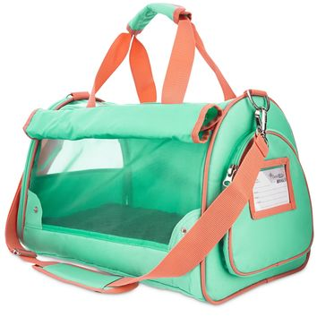 Good2Go Ultimate Pet Carrier in Aqua and Pink   Petco