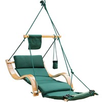 Deluxe Hanging Hammock Lounger Chair