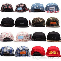 camo 5 panel snapback baseball cap hip hop strapback diamond supply co men summer winter spring outdoor hats bone aba reta toca