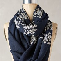 Embroidered Floriculture Scarf by Anthropologie