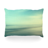 "Sylvia Cook ""Beach"" Oblong Pillow"