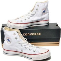 "Stylish ""Converse"" Canvas Flats Sneakers Sport Shoes"