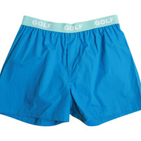 BOXERS - SOLID BLUE