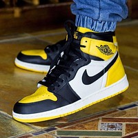 Air Jordan 1 Retro High OG ¡°Yellow Toe¡±