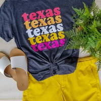Texas Texas Texas Graphic tee (S-2XL)