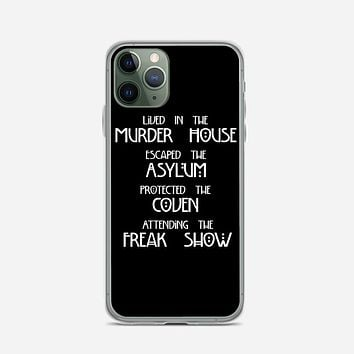 American Horror Story Cover iPhone 11 Pro Case