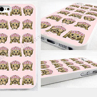 case,cover fits iPhone models>Tie Dye>monkey>Emoji>emojis>flowers,light pink
