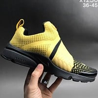 Nike autumn and winter leisure sports trend shoes F-CSXY yellow