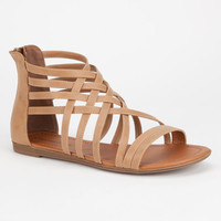 Soda Samina Womens Sandals Sand  In Sizes