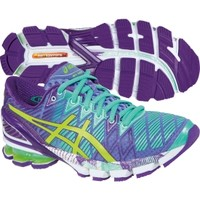 ASICS Women's GEL-Kinsei 5 Running Shoe - Purple/Mint/Lime | DICK'S Sporting Goods