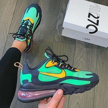 Nike air max 270 react breathable cushioning sneakers shoes