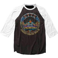 Mens Styx Paradise Theater Tour 81 Retro Baseball Jersey