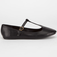 City Classified Laura Womens Flats Black  In Sizes