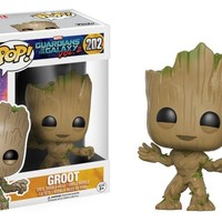 Funko Pop Movies: Guardians of the Galaxy 2 Toddler Groot 202 13230