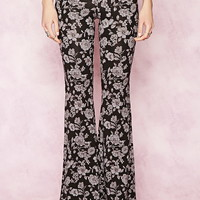 Floral Print Pants   Forever 21 - 2000186485