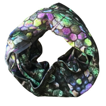 Mother of Pearl Circle Scarf