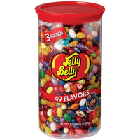 Jelly Belly 49 Flavors Jelly Beans: 3LB Tube