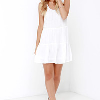 To the Bead of My Heart Beaded Ivory Dress