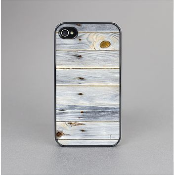 The Light Tinted Wooden Planks Skin-Sert Case for the Apple iPhone 4-4s