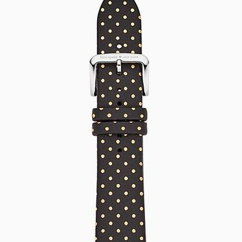 black dot silicone 42/44mm apple watch® strap