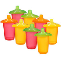 Munchkin Click Lock Re-usable Sippy Cups, 10 Ounce, 8-Count
