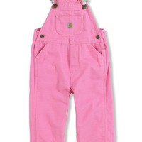 Infant Toddler Washed Microsanded Canvas Overalls