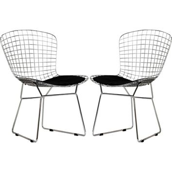 CAD Dining Chairs (Set of 2) Black
